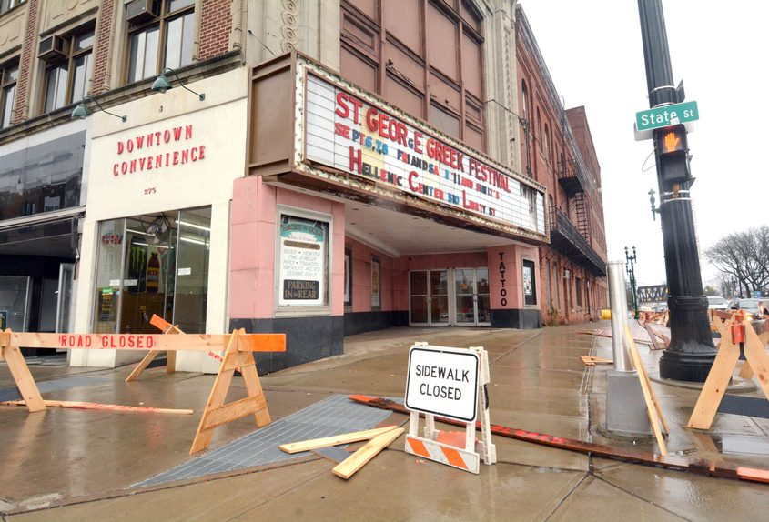 The Wedgeway Professional Building at 271-277 State St. has been deemed dangerous.