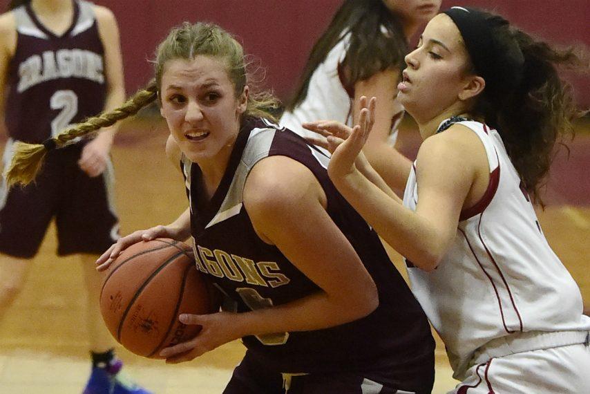 Harmony Philo led the Gloversville varsity basketball team to 16 wins last season.