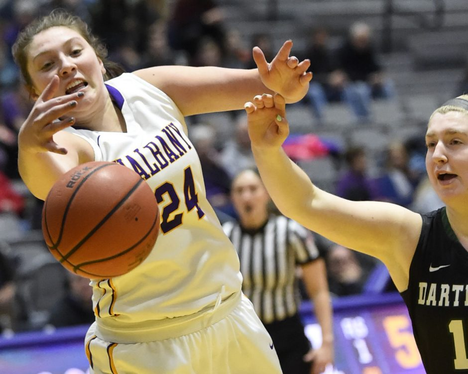 Alexi Schecter sparked UAlbany's win over Central Connecticut on Sunday.