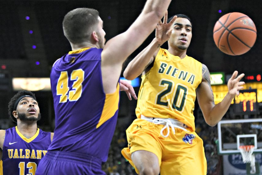 Siena and UAlbany last played in men's basketball in 2017.