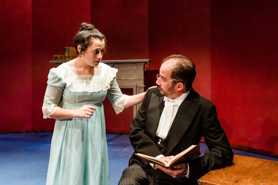 """Siobhan Shea and Jason Biszick star in """"Pride and Prejudice"""" at Schenectady Civic Playhouse."""