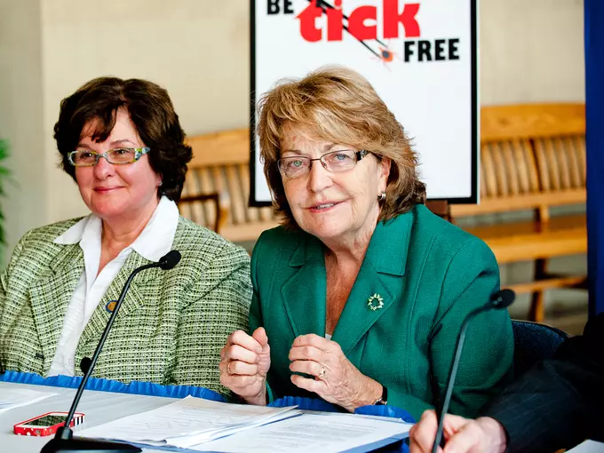 State Sen. Betty Little, right, plans to retire at the end of 2020.