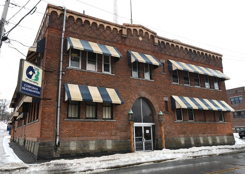 The old OTB building on Smith St. in Schenectady that Redburn Development has acquired.