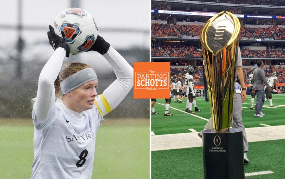 Morgan Burchhardt talks Saint Rose women's soccer, and Bill Rabinowitz speaks about the College Football Playoffs.
