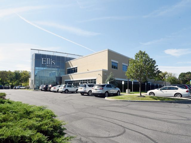 An exterior view of Ellis Medicine's Clifton Park Medical Center on Sitterly Road on Sept. 20.