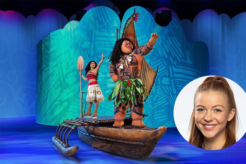 """Disney on Ice: Dream Big"" comes to the TU Center Thursday night. Inset, skater Sarah Santee."