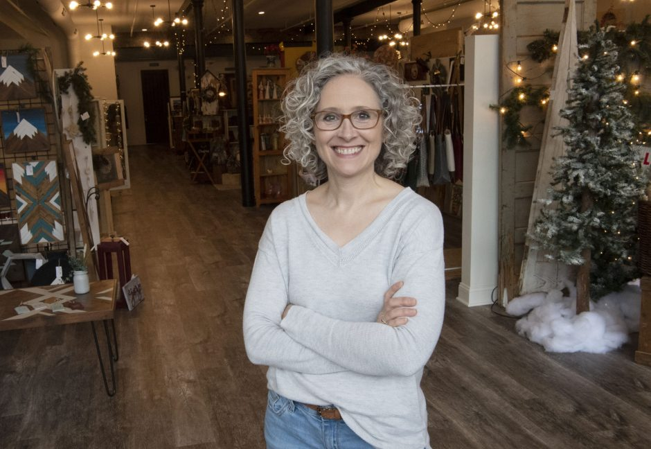 Michelle Whittall is co-owner of the Clinton Street Mercantile along with her husband, Brandon.