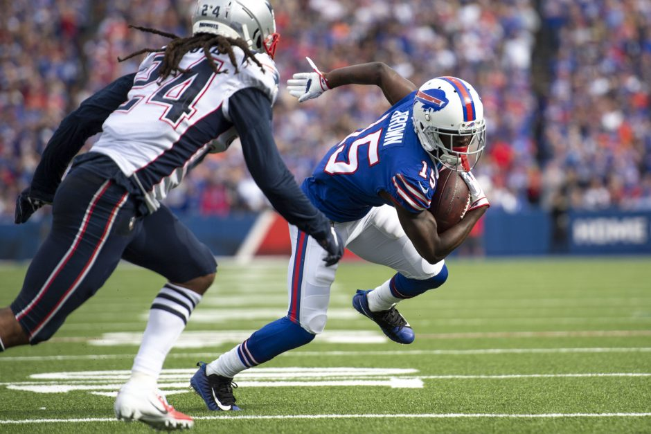 The Buffalo Bills visit the New England Patriots in an AFC East battle on Saturday in Foxborough, Mass.