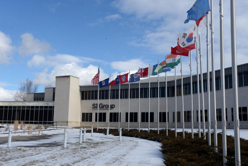 The SI Group headquarters in Niskayuna is shown.