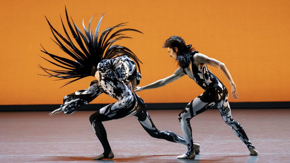 """From the New York City Ballet's """"The Runaway."""""""
