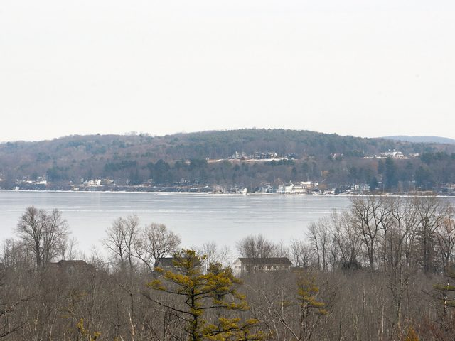 Saratoga Lake as seen from Stillwater on Dec. 16.