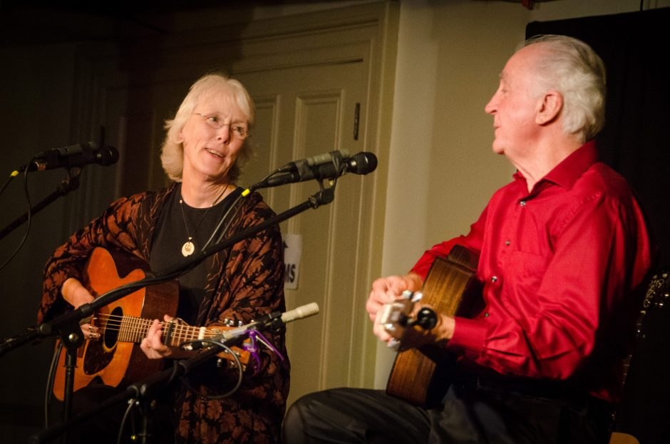 Cindy Mangsen and Steve Gillette will be at Caffe Lena on Saturday.