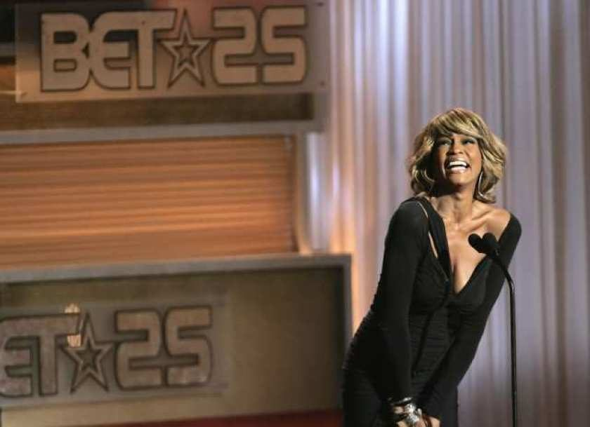 The late Whitney Houston sold more than 200 million records in her career.