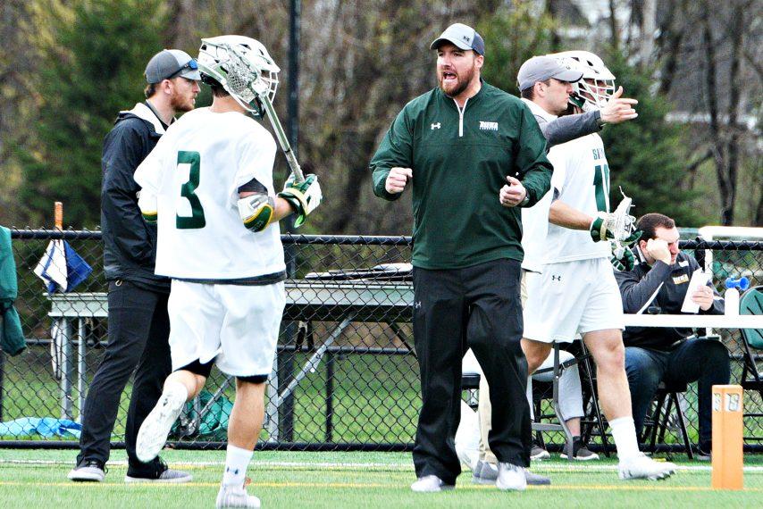 Siena men's lacrosse coach Liam Gleason.