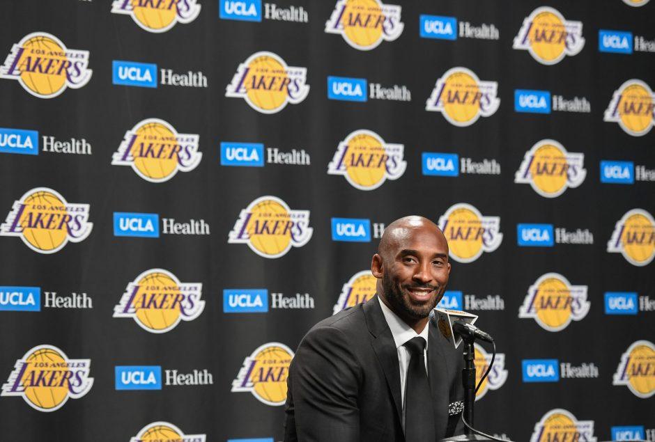 Kobe Bryant in December 2017