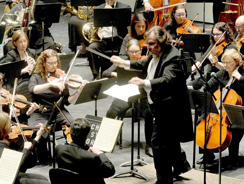 Glen Cortese conducts the Schenectady Symphony Orchestra on Sunday at Proctors.