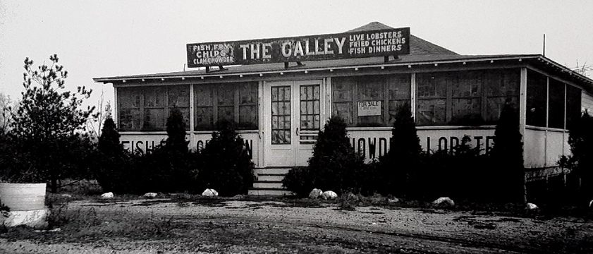 The Galley was once a familiar spot to people traveling Troy Schenectady Road in Niskayuna. Photo courtesy Charles W. Lester III