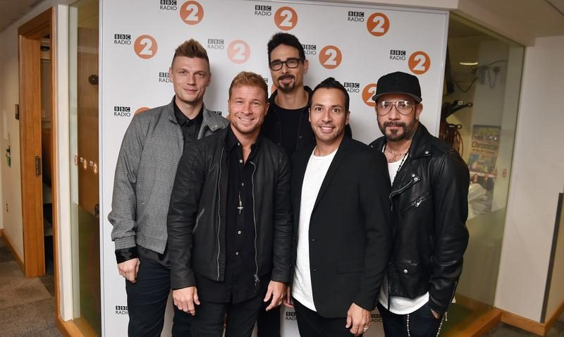 The Backstreet Boys are pictured in 2018.