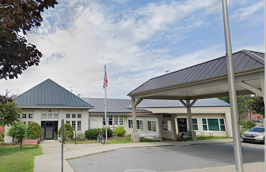 The Saratoga Senior Center on Williams Street.