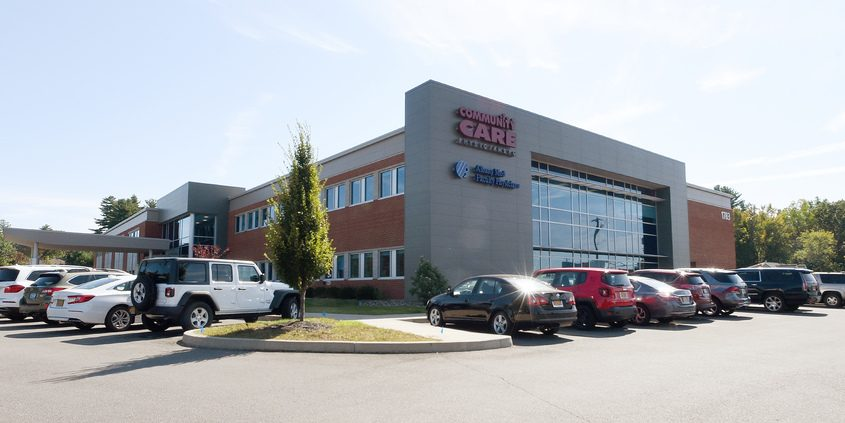 Community Care Physicians' Clifton Park facility is shown in September 2019.
