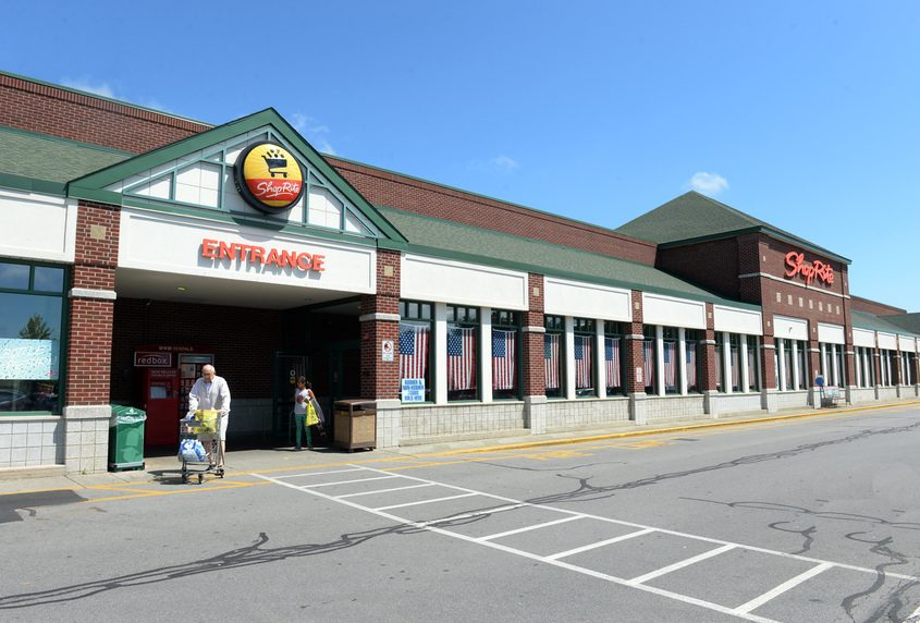 The Niskayuna ShopRite is shown in the summer of 2017.