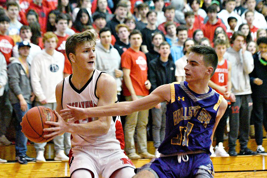 Niskayuna won 61-33 against Ballston Spa.