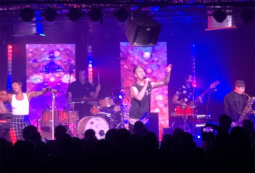 Fitz and The Tantrums perform Wednesday night at Upstate Concert Hall in Clifton Park.