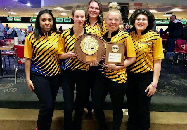 The SUNY Schenectady women's bowling won the NJCAA Region 3 championship last wekeend.