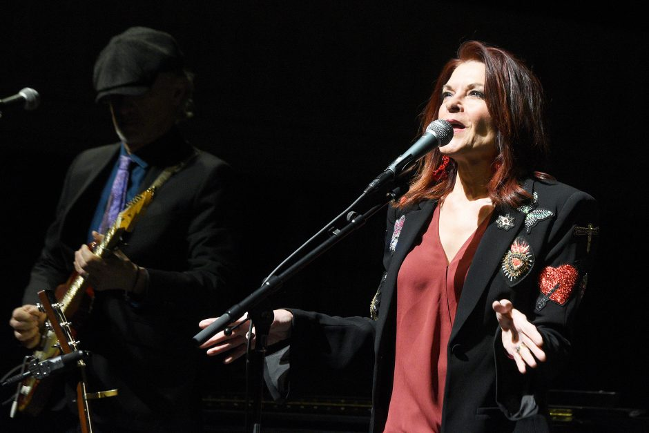 Rosanne Cash and band perform Saturday night at UPH.