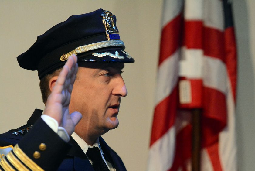 Schenectady Police Chief Eric Clifford is pictured.