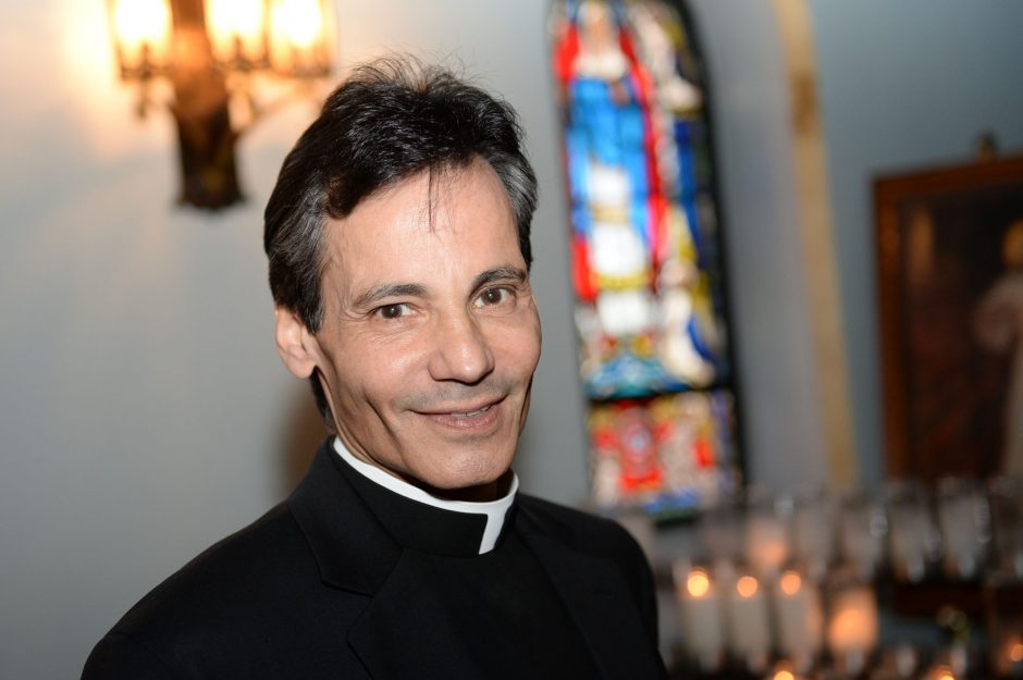 Father Dominic Isopo is pictured at St. Luke's Parish in Schenectady in 2014.