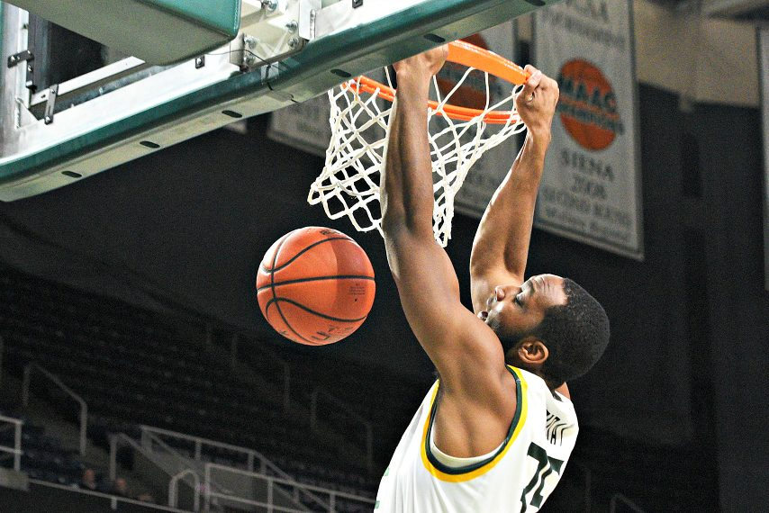 Sammy Friday played four seasons at Siena.