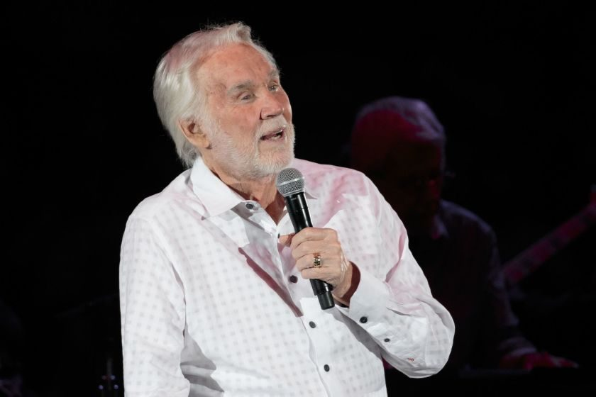 Kenny Rogers is shown in an undated photo.