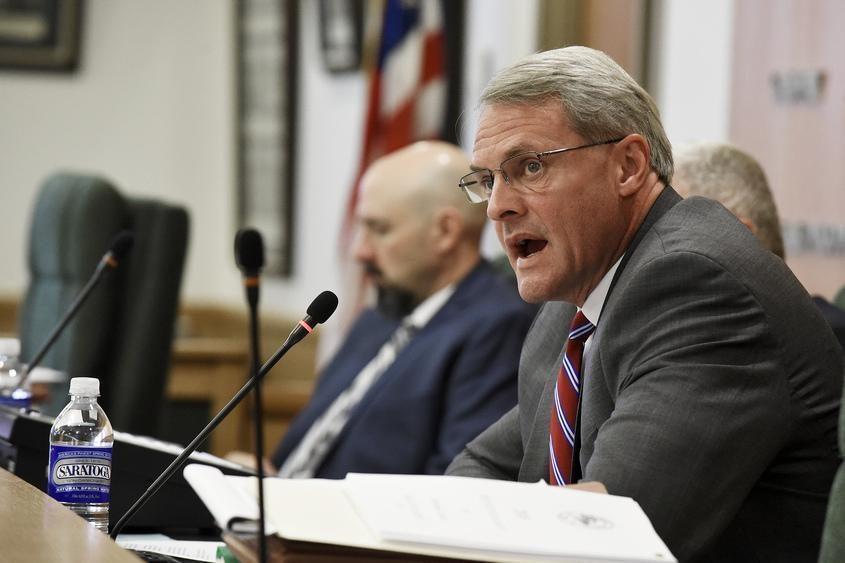 Saratoga County Administrator Spencer Hellwig