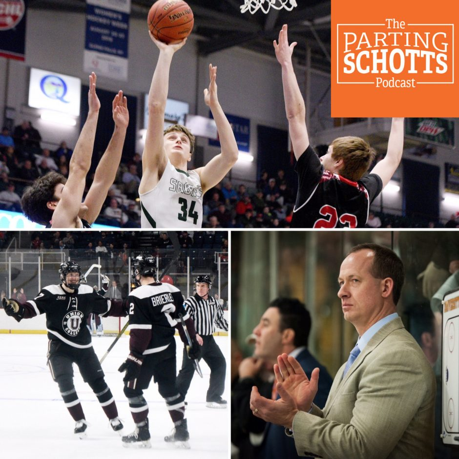 Cancellation of high school winter championships, Union hockey and Kevin Sneddon on this edition.