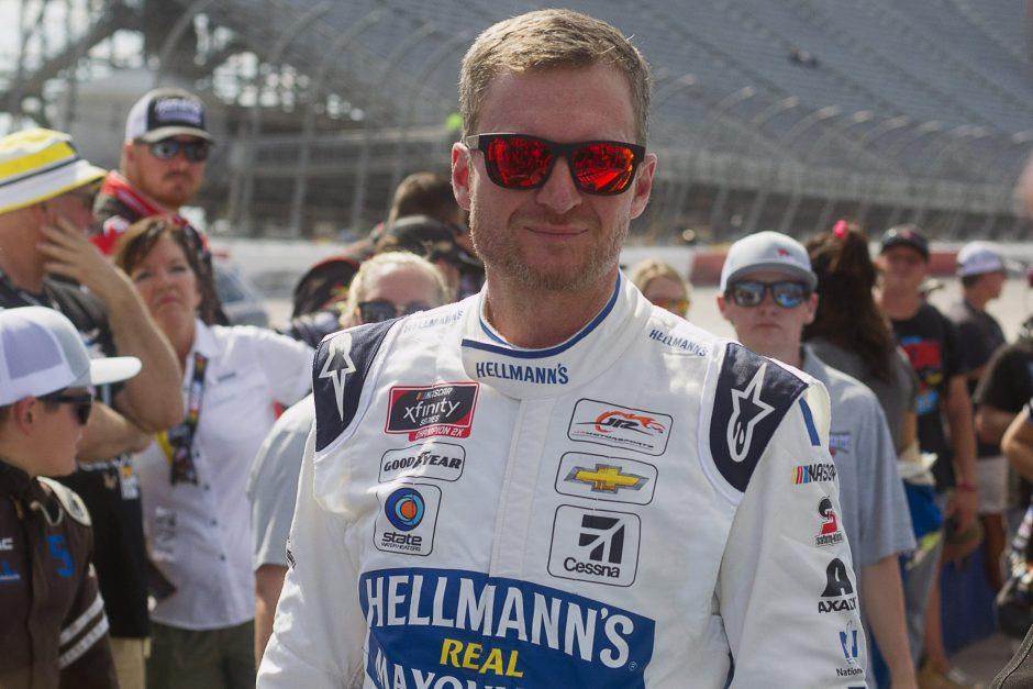 Dale Earnhardt Jr. has been nominated for the NASCAR Hall of Fame.