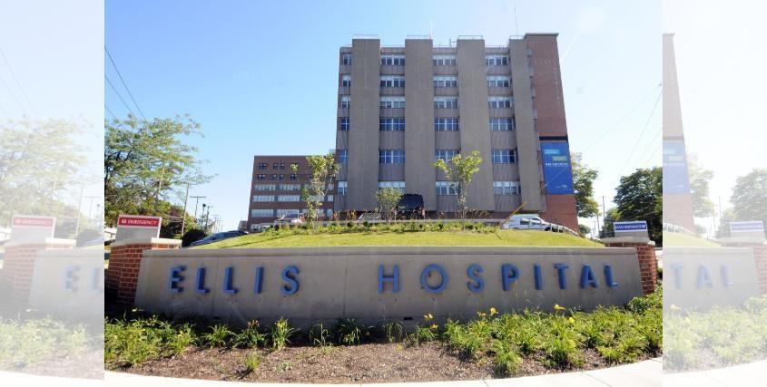 Ellis Hospital in Schenectady is shown