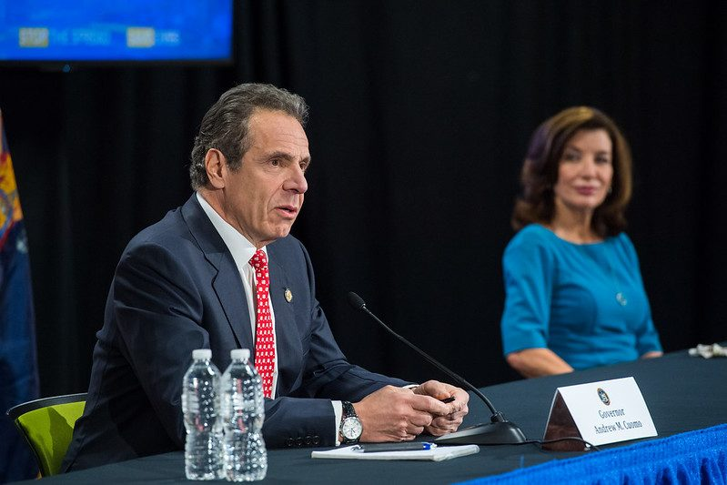 Gov. Andrew Cuomo earlier Tuesday