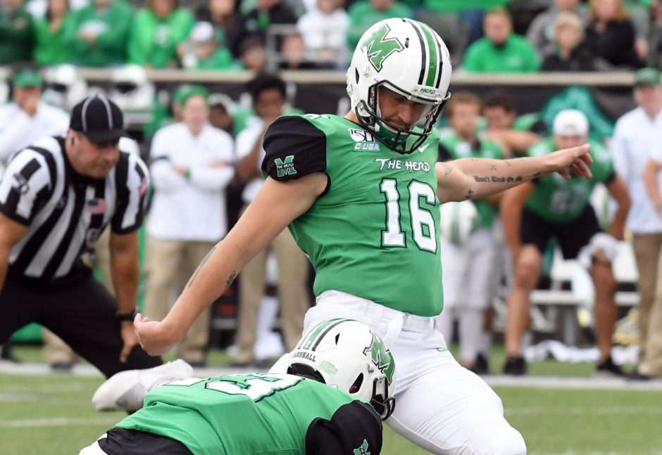 Clifton Park native Justin Rohrwasser was selected in the fifth round of the NFL Draft by the New England Patriots.