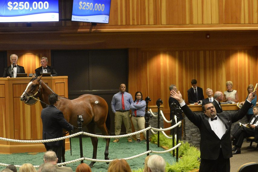Two Fasig-Tipton yearling auctions  in Saratoga will be held in Kentucky this year.