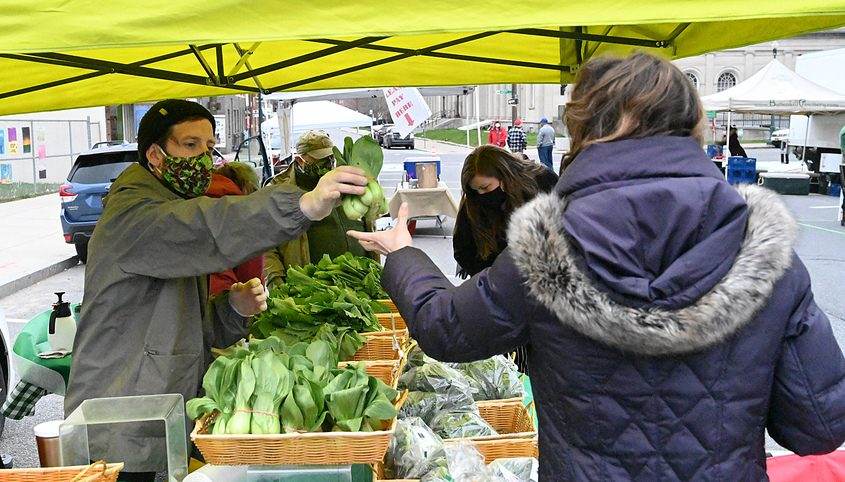 The Schenectady Greenmarket Sunday