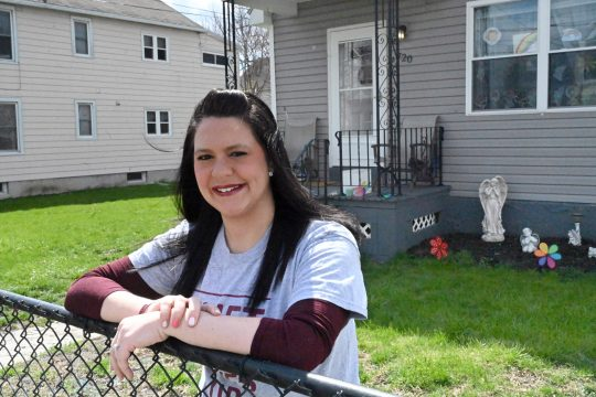 "Amanda Cavanaugh created the fundraiser ""Vliet Never Gives Up,"" which supports local restaurants and families in need."