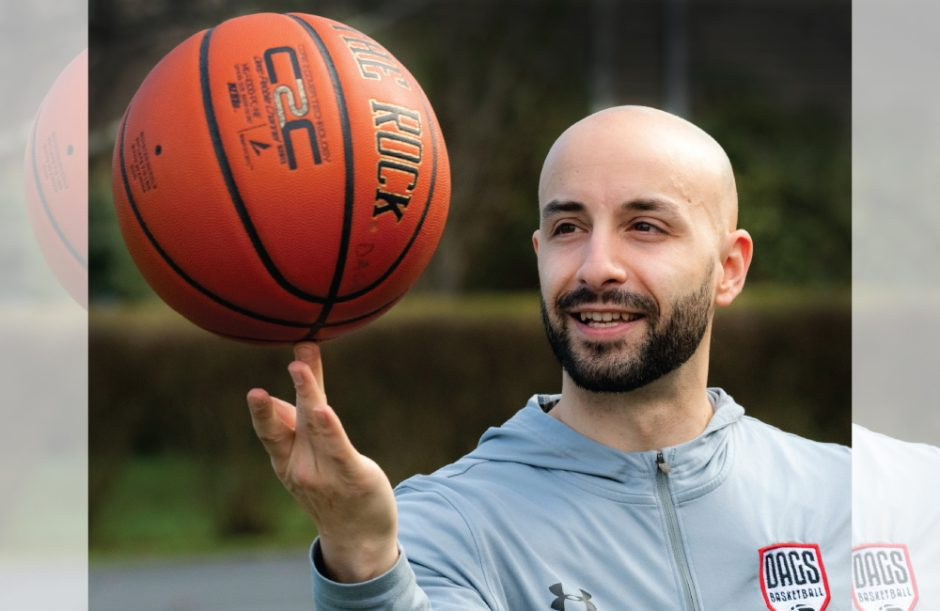 Steve Dagostino has posted virtual workouts and is hosting live training events through his Dags Basketball.