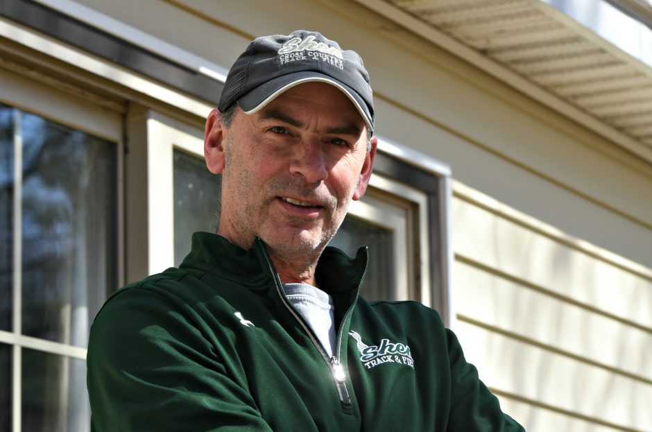 Shenendehowa assistant girls' track coach Keith Jordan.