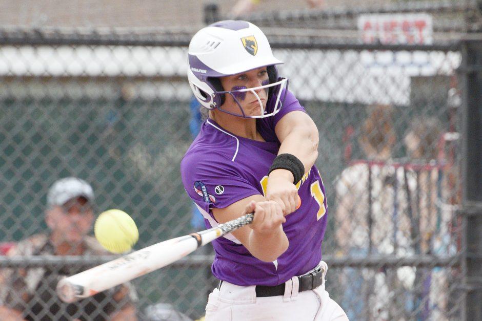 Ballston Spa softball's Lauren Kersch.