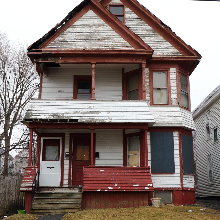 1612 Carrie St. in Schenectady is shown in March.
