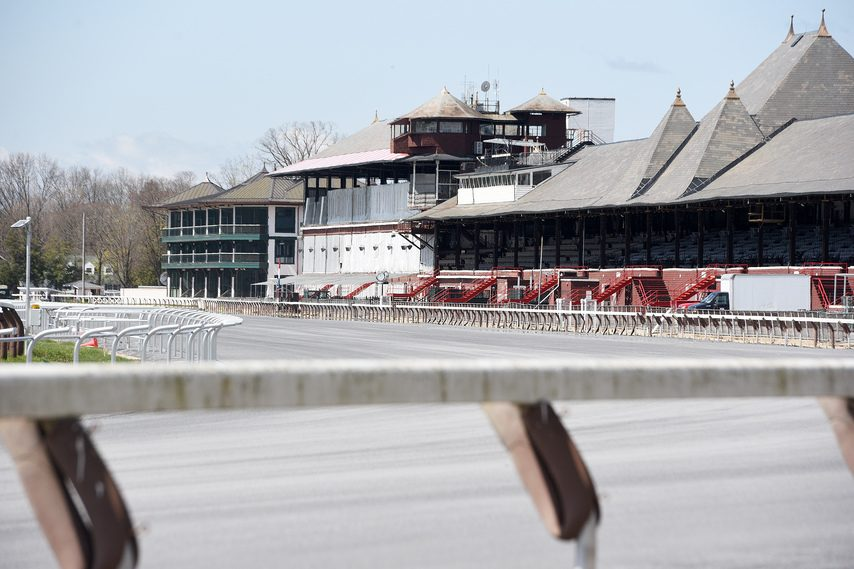 Saratoga Race Course is quiet during the offseason, and could be quiet if there is racing season, too.