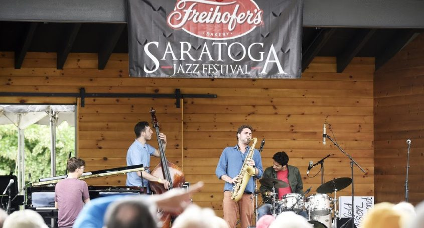 A previous Saratoga Jazz festival
