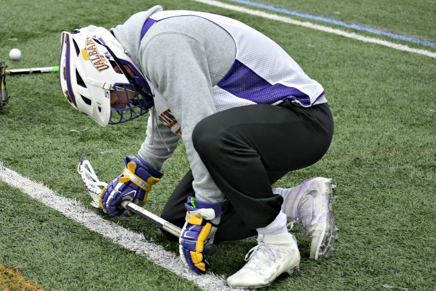 Former UAlbany lacrosse faceoff specialist TD Ierlan was the No. 1 pick in Monday's Major League Lacrosse Draft.