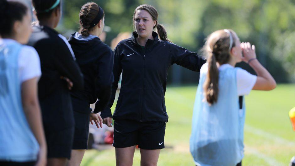 Karen Gurnon is the new Union College women's soccer coach.